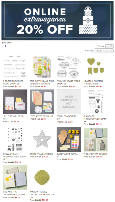 online-extravaganza-stampin-up-20-off
