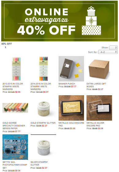 online-extravaganza-stampin-up-40-off