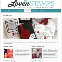 Join a Stampin Up class or club with Meg at LovenStamps - see your options at a glance, including Paper Pumpkin and monthly Stamps in the Mail Club