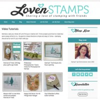 LovenStamps Video Tutorials Page - over 100 free Stampin' Up project ideas, with step-by-step directions