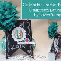 """Ring"" in the New Year: Make Your Own Photo Frame Calendar"