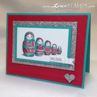 Today and Everyday stamp set: card by LovenStamps