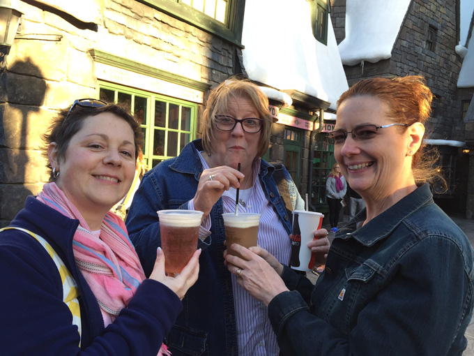 Butterbeer - drink of Stampin' Up! Demonstrators at Harry Potter World