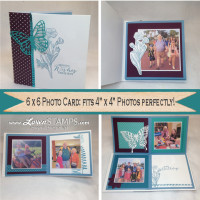 3 Projects in 1 – Video Tutorial: Folding Photo Card