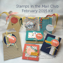 Stamps in the Mail Club: New Kits for Celebrate Today