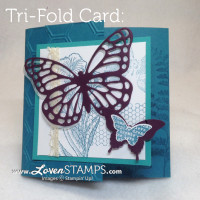 """Try"" Something New with a a Tri-Fold Card"