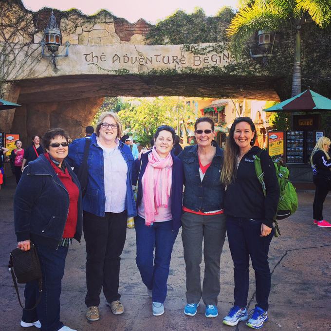 LovenStampfuls Demonstrators - visiting Universal Studios Islands of Adventure Theme Park together - Orlando, Leadership Conference 2015