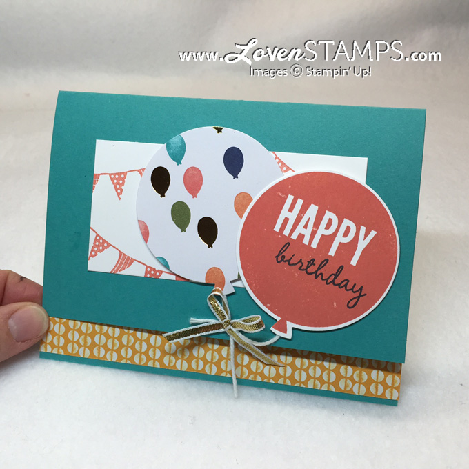 Celebrate Today and the Balloons Framelits Dies - a Stamps in the Mail Club exclusive by LovenStamps