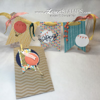 Celebrate Today: A Birthday Banner in a Bag - with the Balloons Framelits Dies from Stampin' Up!, for Stamps in the Mail Club by LovenStamps