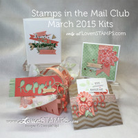 Just Around the Corner: Think Spring and Your DIY Stamps In the Mail Club Kit