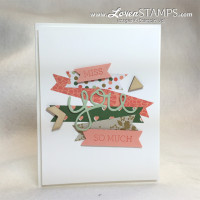 Got Scraps? Grab Your DSP Paper Strips for This Card