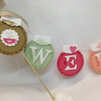 It's Spring! Make Your Own Welcome Banner Tutorial (and studio tour)