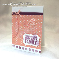 Sweet & Simple: Painted Petals Butterfly Card