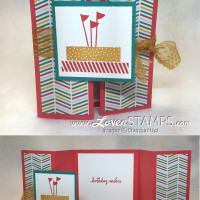 Fun Folds Made Simple: Double Gate Fold Card Tutorial