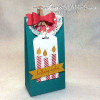 Build A Birthday Gift Bag: Punch Board Tutorial