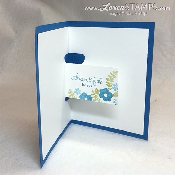 Stampin' Up! Endless Thanks stamp set - a Pop-Up Card video tutorial by LovenStamps (for Stamps in the Mail Club)
