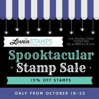 Spooktacular Stamp Sale – Begins Monday