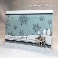 Jingle All The Way: Vellum Snowflake Backgrounds