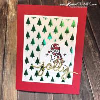Sparkly Season – Simple Christmas Card