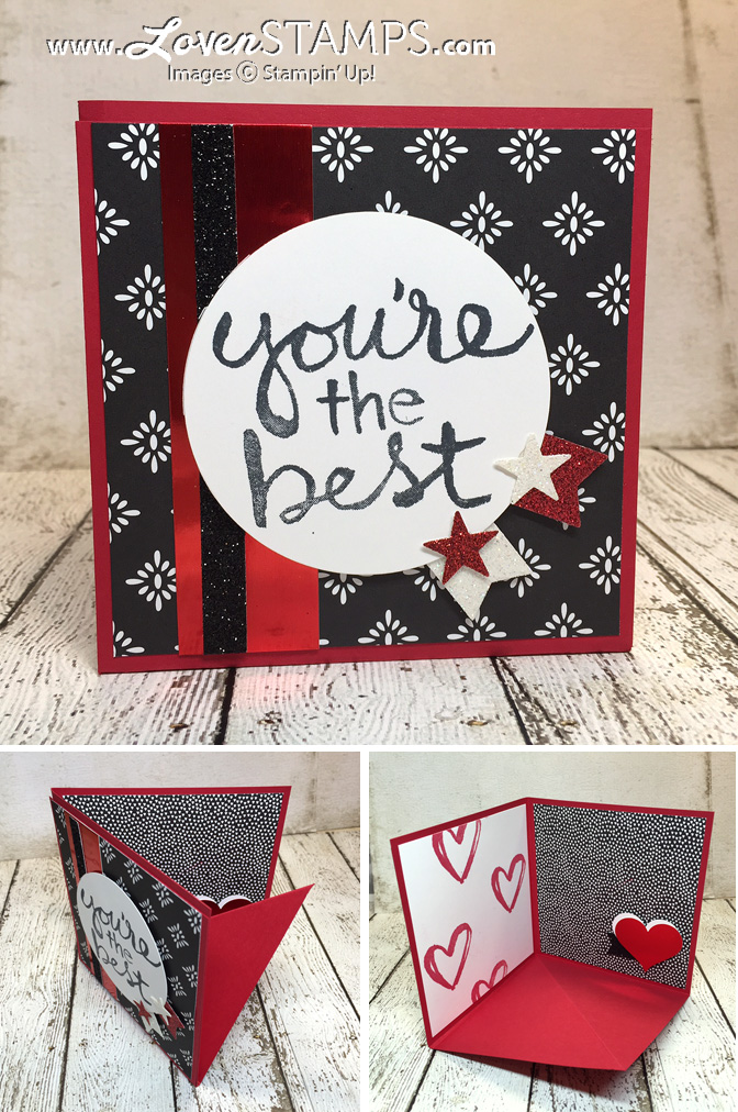 LovenStamps: How to make a Pop-Up Corner Card - for Stamps in the mail Club Kit