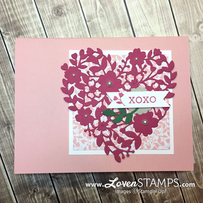 LovenStamps: Bloomin' Love and the Bloomin' Heart Thinlits Dies, change-your-life tips on Big Shot die cuts