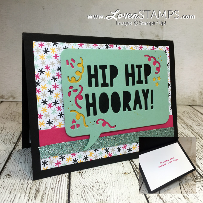 LovenStamps: Faux Stained Glass with the Party Pop-Up Thinlits Dies from Stampin' Up! - a how-to video, for Stamps in the Mail Club with Meg