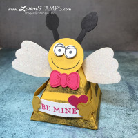 BEE My Valentine – Playful Pals Pyramid Box Treats