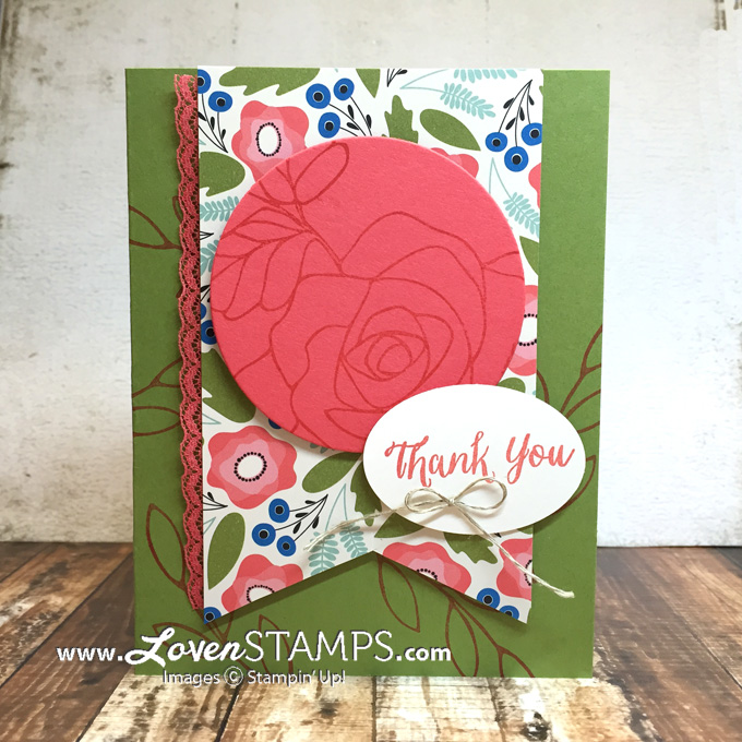LovenStamps: Rose Wonder and the Pretty Petals Paper Stack - for Stamps in the Mail Club, exclusively available at LovenStamps.com