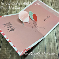 Video Tutorial: How To Make The Snow Cone Pop-Up Card