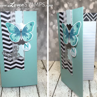 Make Your Own Notebooks: Chevrons, Bling and Butterflies