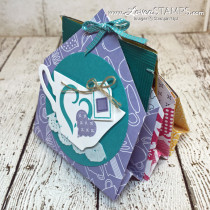 6 Pocket Treats & Tea Bag Holder – A Mini Gift Idea (Just Add Chocolate)