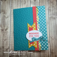 Snow Cone Pop-Up Card Tutorial: All Boxed Up