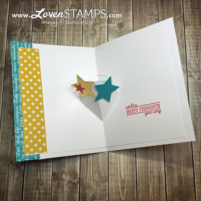 LovenStamps: All Boxed Up with a Snow Cone Pop-Up Card Tutorial for Stamps in the Mail Club with Meg
