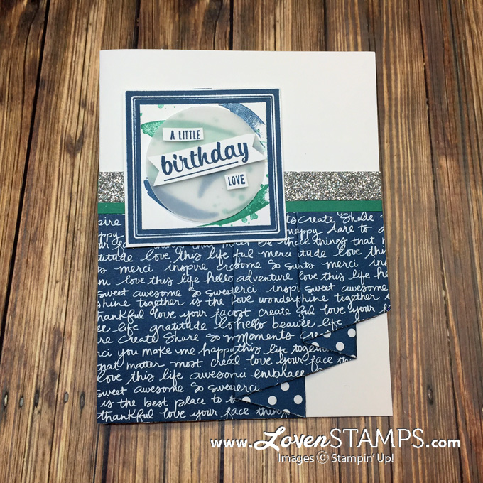LovenStamps: Drapery Pleat Fold Card - A How To Tutorial for Stamps in the Mail Club (exclusively at LovenStamps)