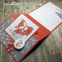 A Foxy Friends Faux Flip Flop Card