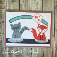 "Foxy Friends ""Sending A Little Love"" with Sliding Star Framelits"