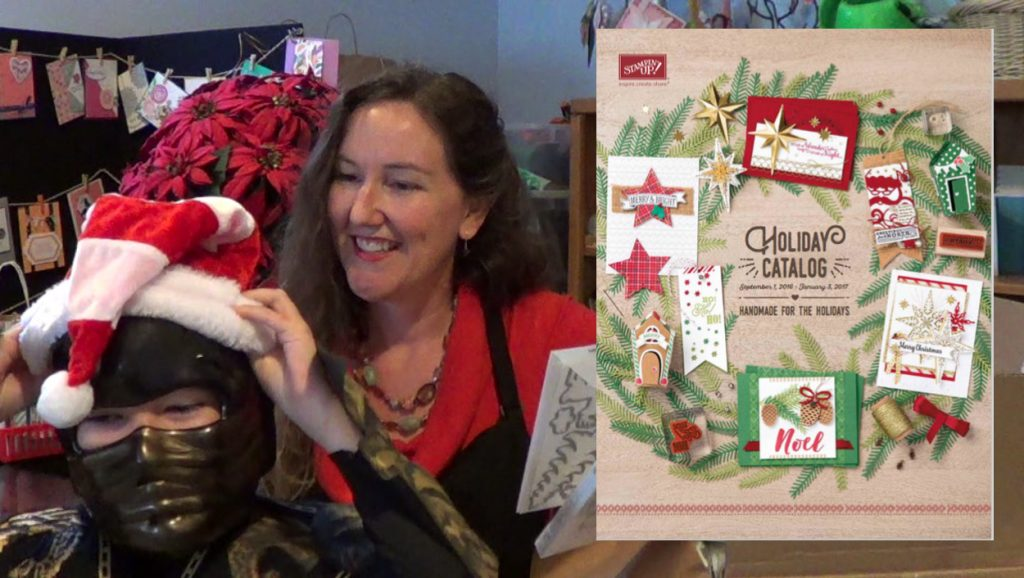 Stampin' Ninja: A Holiday Catalog Pre-Order Unboxing Video from LovenStamps