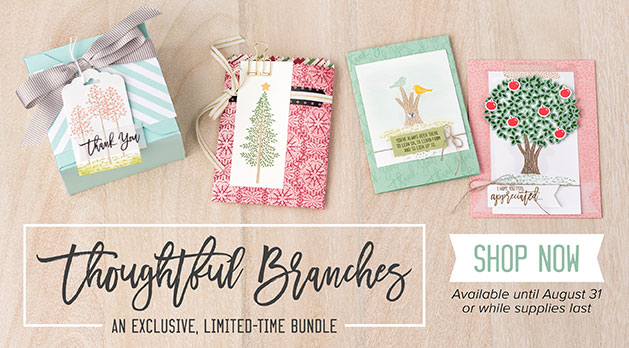 Limited Time - Thoughtful Branches bundle for die cut trees, hydrangeas, apples, birds - so many pieces