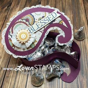 LovenStamps: Paisleys & Posies box for Stamps in the Mail Club with Meg