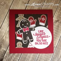 Cookie Cutter Christmas – Gift Card Holder Idea