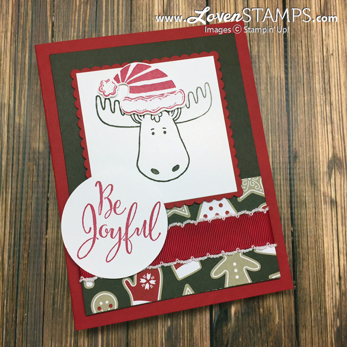 LovenStamps: Make your own Jolly Friends moose and give him a stylish hat with the coordinating Jolly Hat Builder Punch
