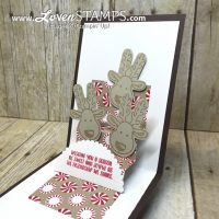 Cookie Cutter Reindeer: A Stair Step Pop-Up Card Tutorial