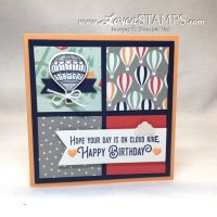 Simple Samplers: Lift Me Up and the Up & Away Hot Air Balloons