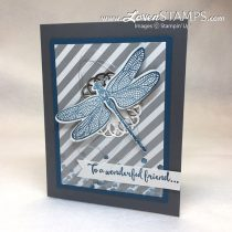 Sharing My Stampin' Up! Swap Cards: Dragonfly Dreams