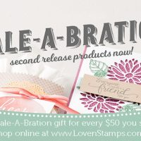 NEW Sale-A-Bration Products – Available Today!