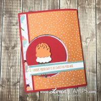 Fun Folds: Peek-A-Boo Circle Card Tutorial