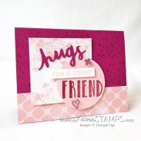 How To Use the Multipurpose Adhesive Sheets: Big Hugs for Lovely Words