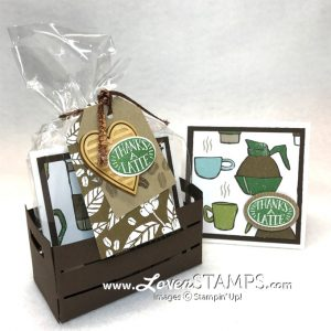 LovenStamps: Exclusive Stamps in the Mail Club with Coffee Cafe - with the Wood Crate Note Card Set! Only at LovenStamps