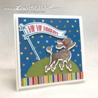 Perfect Paper with Perfect Die Cuts: Perfect for Creating Perfect Poodles