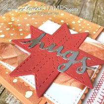 Make Your Own Quilt with Christmas Quilt and Quilt Builder Framelits
